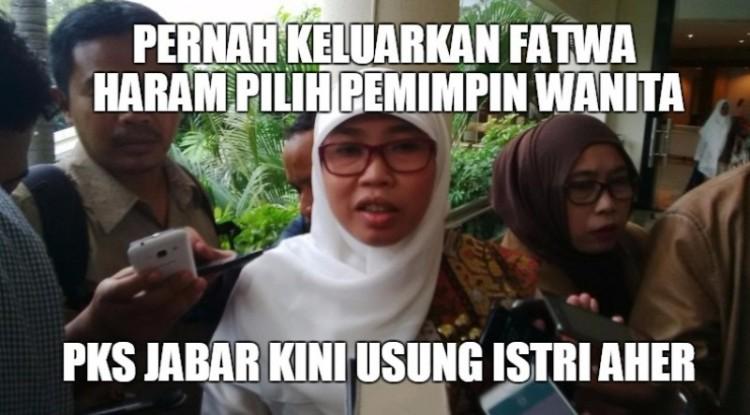 Netty Heryawan, istri Aher diusung DPW PKS Jabar