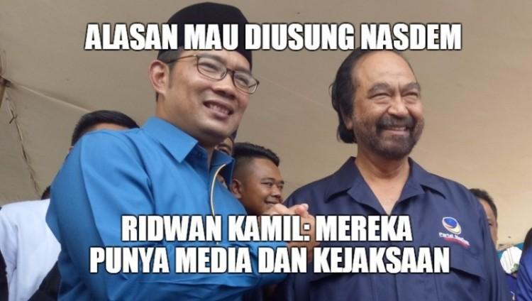 Ridwan Kamil ungkap alasan memilih NasDem