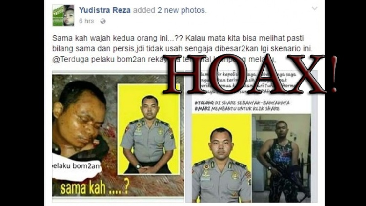 Rinton Girsang difitnah pelaku bom Kampung Melayu
