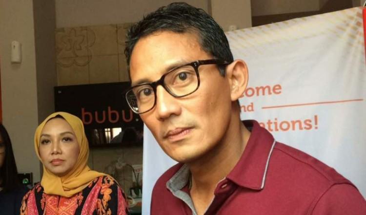 Sandiaga Uno berjanji akan membahagiakan jomblo