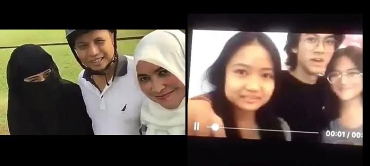 Video asli dan parodi poligami Arifin Ilham