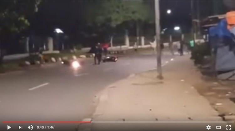 Video penyerangan pemotor di Jagakarsa