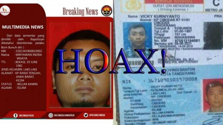 Wiryawan Indra Wijaya dan Vicky Kurniyanto dikaitkan dengan bom Kampung Melayu