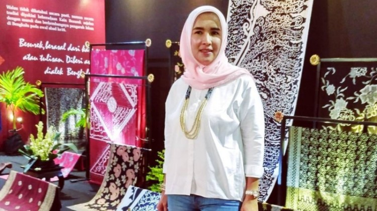 Lily Martiani Maddari, istri Gubernur Bengkulu Ridwan Mukti