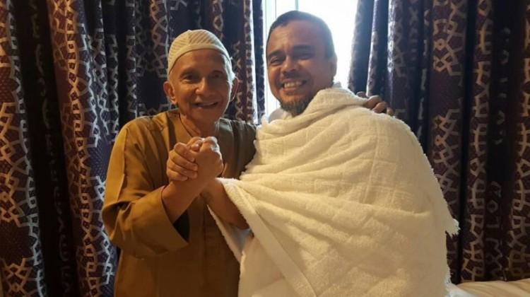 Pertemuan Amien Rais dan Habib Rizieq di Arab Saudi