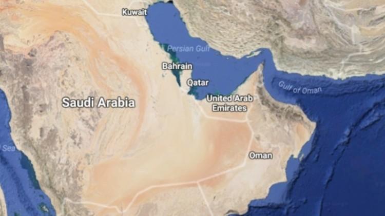 Peta Qatar dan negara Arab yang memutuskan hubungan diplomatik