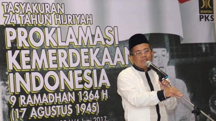PKS menggelar Tasyakuran Kemerdekaan RI ke 74 Hijriah