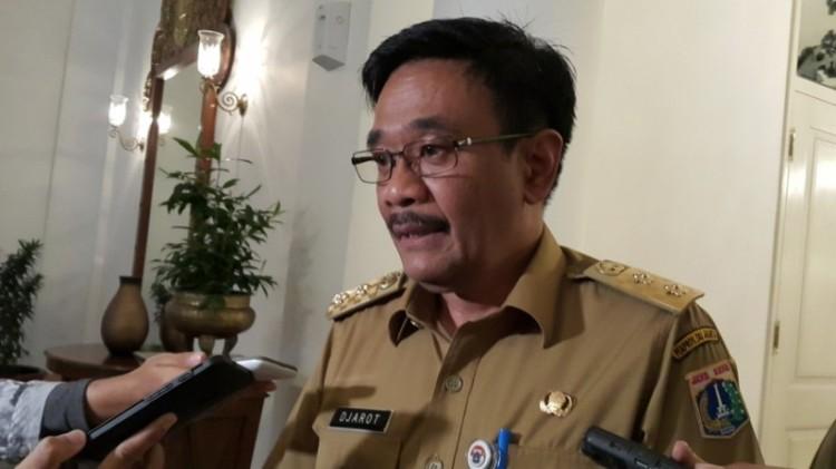Plt Gubernur DKI Jakarta Djarot Saiful Hidayat di Balai Kota