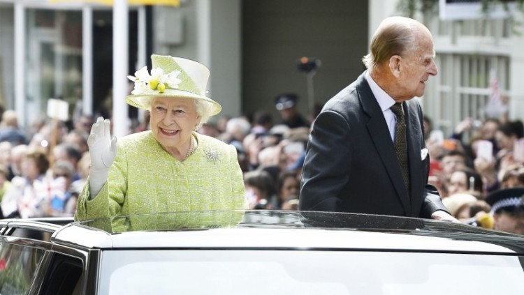 Ratu Elizabeth dan suaminya Pangeran Philip