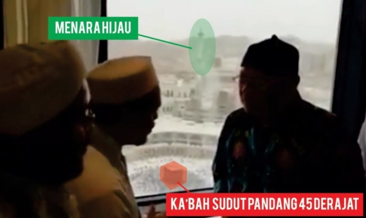 Rizieq dan Eggi Sudjana di hotel mewah di Mekkah