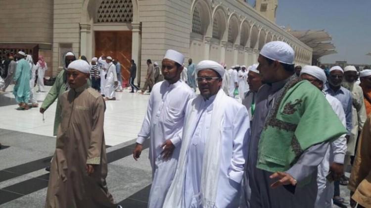 Rizieq saat berada di Arab Saudi