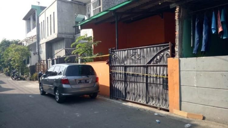 Rumah lokasi pembunuhan remaja di Cengkareng