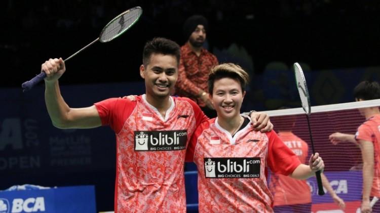 Tontowi Ahmad dan Liliyana Natsir lolos ke final Indonesia Open 2017