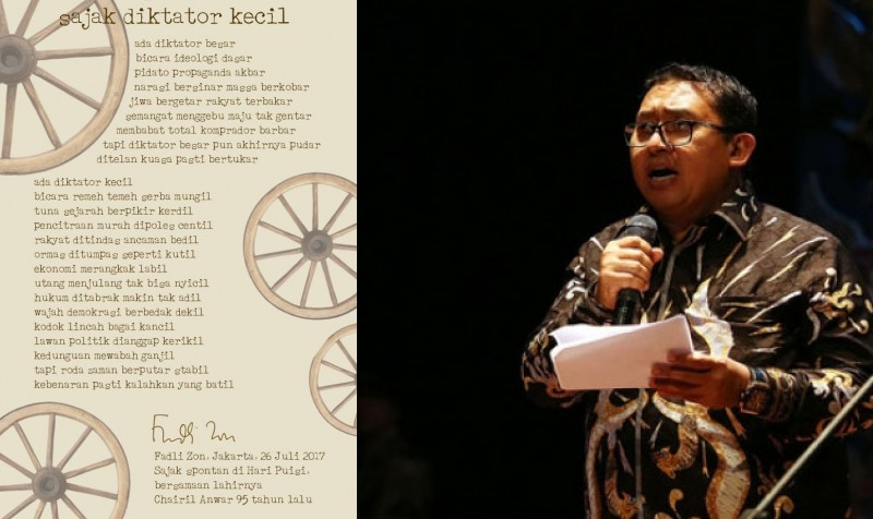 Image Result For Puisi Fadli Zon