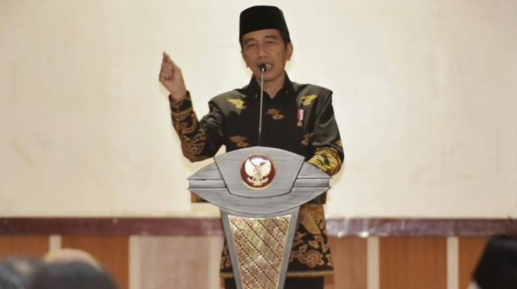 Jokowi di Universitas Ahmad Dahlan, Bantul
