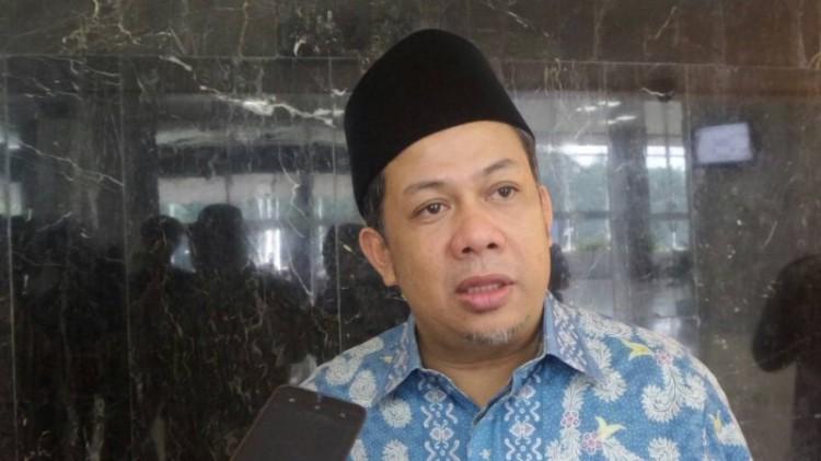 Wakil Ketua DPR RI Fahri Hamzah di Kompleks Parlemen, Senayan