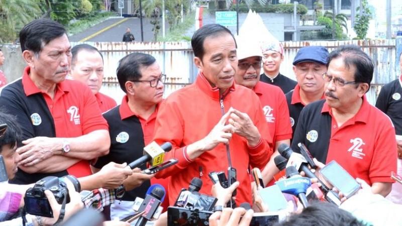Bendera RI Terbalik di Malaysia, Jokowi: Jangan Dibesar-besarkan