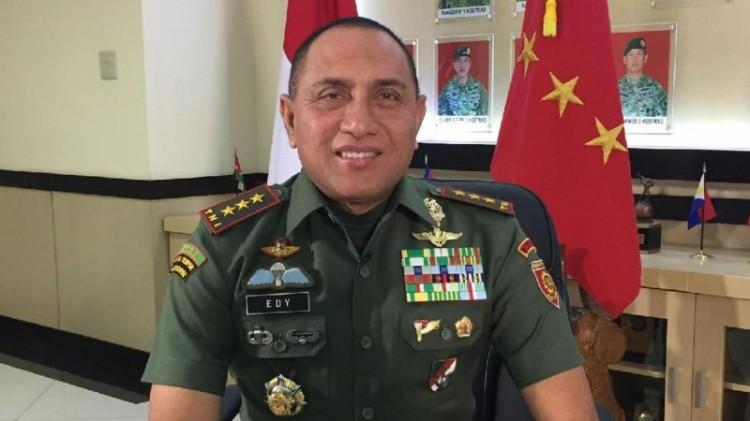 Pangkostrad Letnan Jenderal TNI Edy Rahmayadi