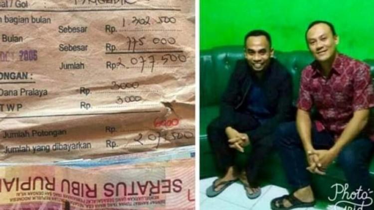 Pertemuan antara Badrun dengan Iptu Sugeng Iryanto