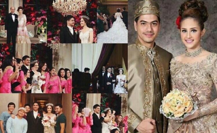 Foto pernikahan Tsamara Amany