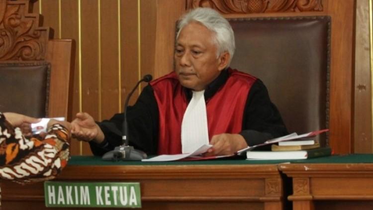 Hakim Cepi Iskandar saat memimpin sidang praperadilan Setya Novanto