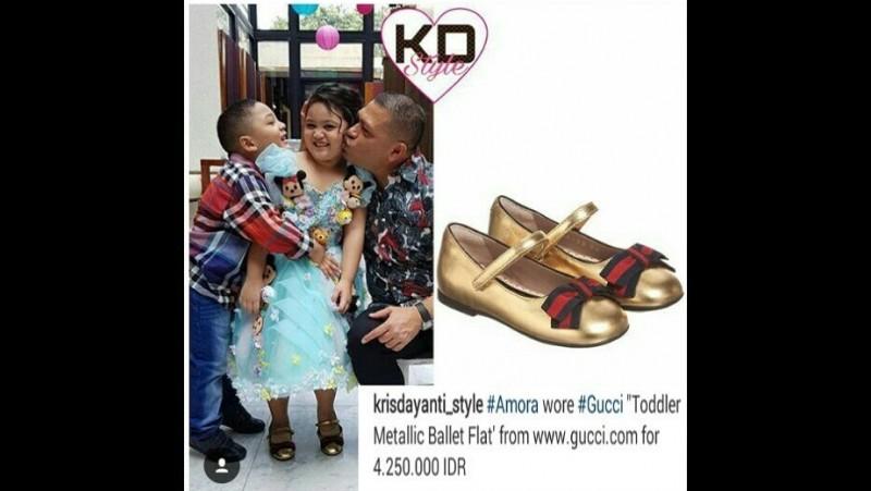 Harganya Rp 4,25 Juta, Sepatu Amora Lemos Disorot Netizen