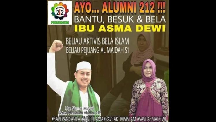 Poster bela Asma Dewi
