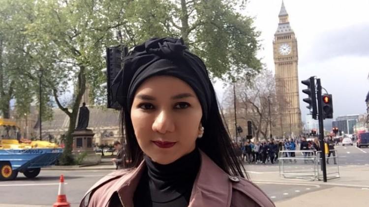 Rita Widyasari saat berada di London