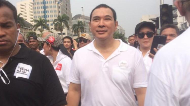 Tommy Soeharto hadiri acara CFD