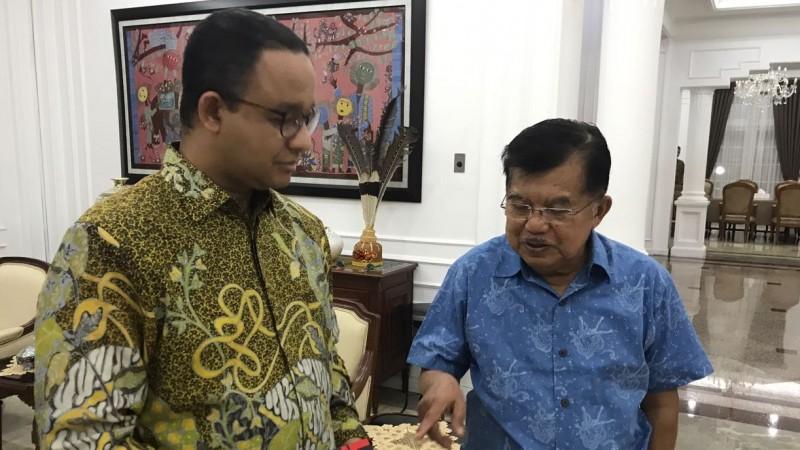 JK Yakin Anies Bisa Sulap Jakarta Jadi 100 Kota Terbaik di Dunia