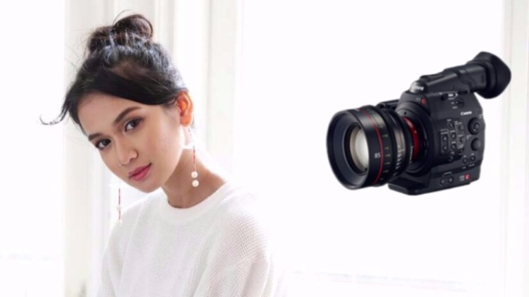 Artis Dhea Imut kehilangan Canon S500