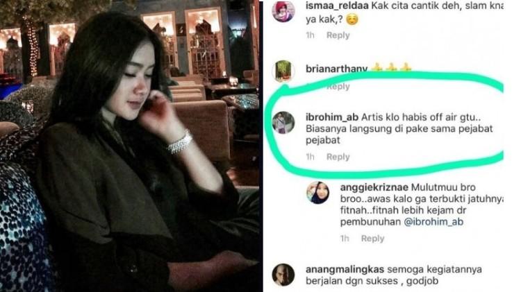 Cita Citata dihina netizen