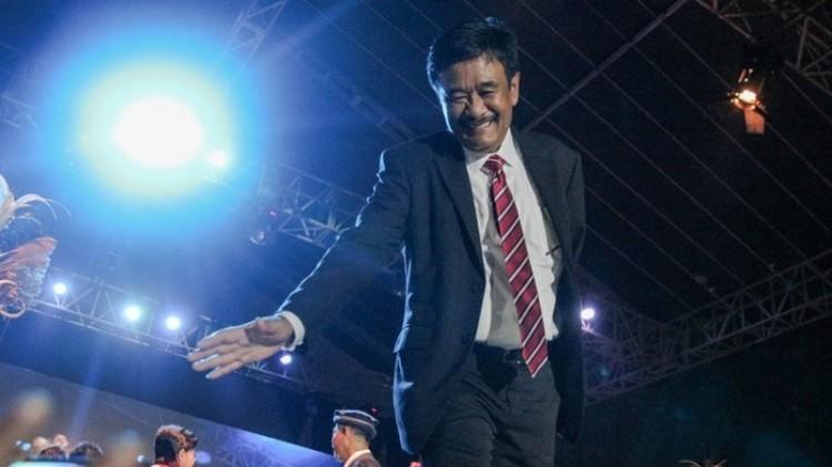 Djarot Saiful Hidayat yang tak hadiri setijab Anies-Sandi