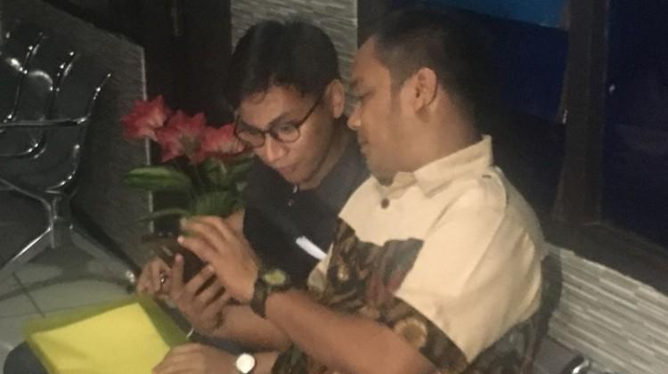 Farkhan Gunawan di Mapolresta Depok