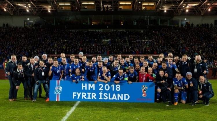 Islandia lolos ke Piala Dunia 2018