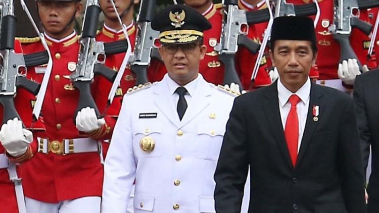 Jokowi dan Anies Baswedan