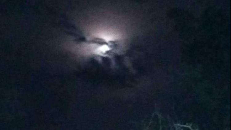 Langit di Purwakarta disebut berlafadz Allah
