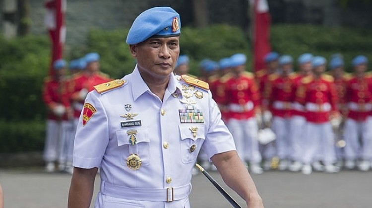 Mantan Danpaspampres, eks Mayjen TNI Bambang Suswantoro