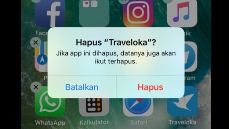 Aksi #uninstallTraveloka di Twitter