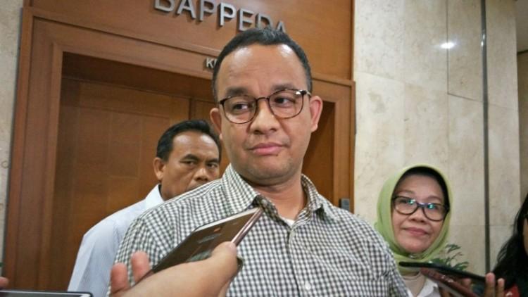 Anies Baswedan di Balai Kota DKI Jakarta