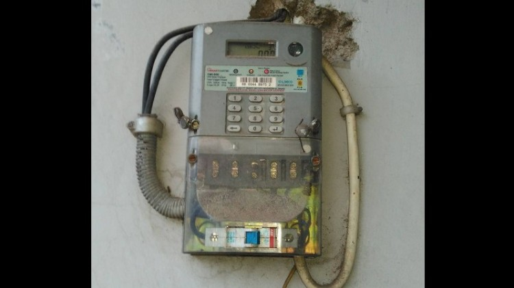 Ilustrasi meteran listrik