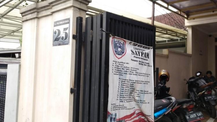Kantor Himpaudi yang menumpang di PT Tegap Mitra Nusantara