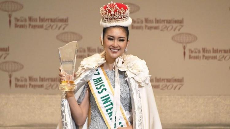 Kevin Lilliana juara Miss International 2017