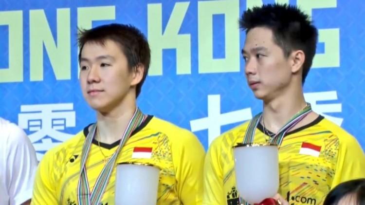 Kevin Sanjaya dan Marcus Gideon juara Hong Kong Open 2017