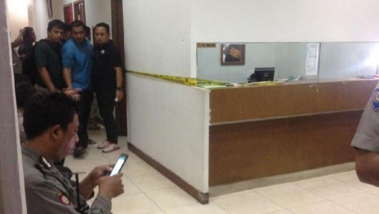 Penampakan Klinik Azzahra Merical, TKP penembakan