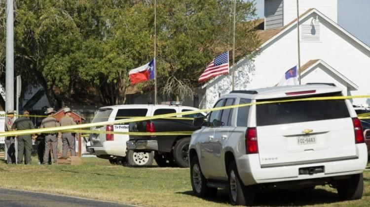 Penembakan di di Gereja Baptis, Texas