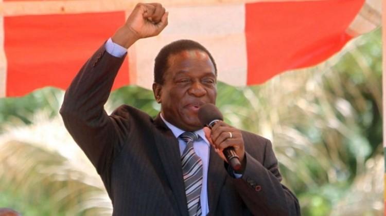 Presiden baru Zimbabwe, Emmerson Mnangagwa