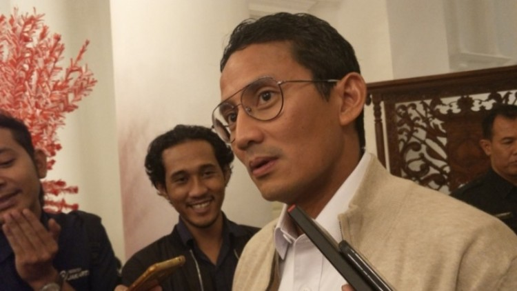 Sandiaga Uno menyalahkan Ahok-Djarot soal APBD DKI