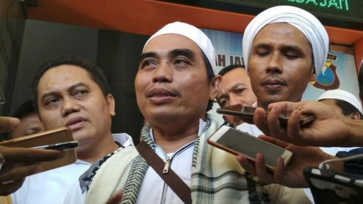 Ulama yang melaporkan Megawati ke Polda Jatim