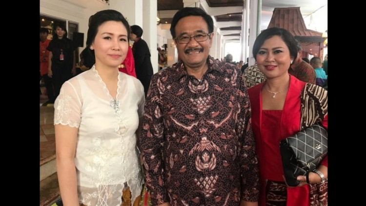 Veronica Tan bersama Djarot dan Happy Farida